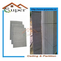 Building Materials Middle Or High Density Reinforced Fiber Cement Board