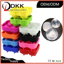 Ice Ball Maker Original & Best Ice Ball Mold 4x4.5cm Ball Capacity Black (1 Rox Single Pack)