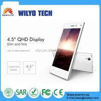 WL3F 4.5inch 6582 Best Smartphone Unlock Mobile Phone With Walkie Talkie