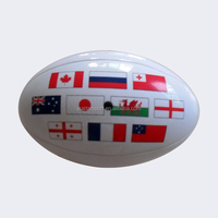 Rugby ball manufacturers cheers for rugby world cup 2015