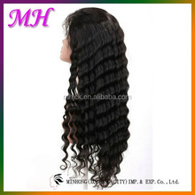 No Tangle No Shedding Hot Sale Henan Xuchang Sell Synthetic Hair Lace Wig