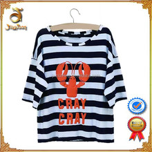 2015 Most Popular Women Stripe T-shirt For Wholesale Price