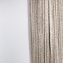Australia style ring string curtain with gold line