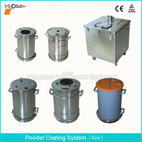 COLO-S01 Big Volume Powder Coating Hopper for Powder Coating Machine