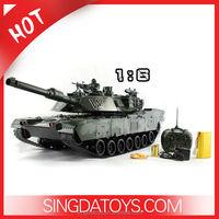 1:6 Scale 7CH Radio Control Military Tank Model