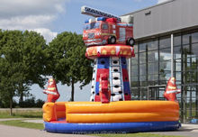 Inflatable CLIMBING TOWER FIRE TRUCK