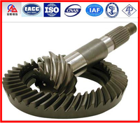 Truck Crown wheel and pinion gear bevel gear