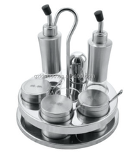 Condiment Set W/Stand