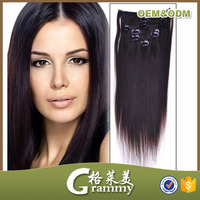 malaysia export companies need remy human natural hair clip on hair extensions