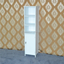 Wooden french furniture in china white painted bathroom cabinet