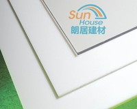 high light transmission Lexan plastic material colored solid polycarbonate sheet pc solid sheet