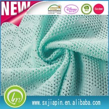 Wholesale 100% polyester printed embossed spandex viscose fabric