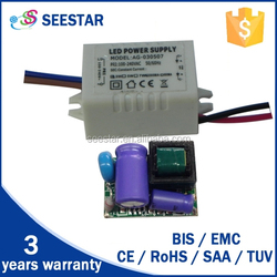 made in china constant current non-dimmable mini 3w 5w 7w led driver bulb light isolated led drivers