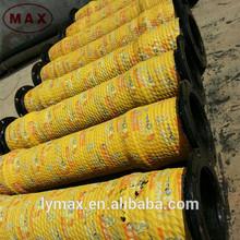 Dragado de goma de la manguera, 4 pulgadas de goma de la manguera