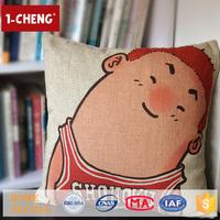 Hot Sale Creative Japanese Design Printed Cushion Home Decor Pillow Case Cushion Cover 50x50