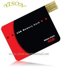 Promotional usb card business card usb flash drive