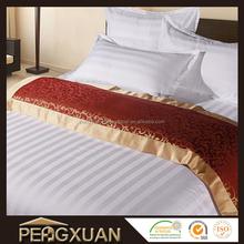 hot sale hotel 200TC 300TC 400TC 600TC 100% cotton bed sheet branded