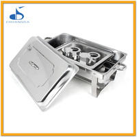 restaurant equipment stainless steel chafer dish buffet food warmer chafing plate