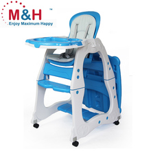 Baby Highchair New Deluxe Plastic 2 IN 1 For kids dinner High Chair