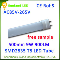 Widely used pure white frosted cover CE ROHS chinan t8 led red tubes xxx