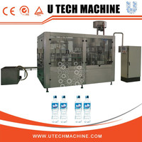 High quality Automatic Mineral Pure Water Filling Machinery / Bottling Equipment