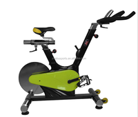 Pro Upright Stationary Exercise Cycling Bike w/ LCD Monitor