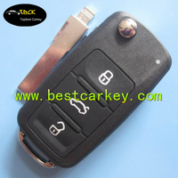 Original 3 button car remote key 433MHz 5K0 959 753 AB for vw Sagitar,polo.golf key with ID48 chip