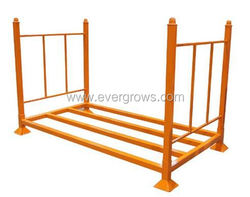foldable truck tire folding rack tire rack for industrial and warehouse use