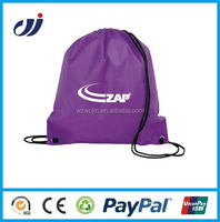 BEST SELLING WATERPROOF drawstring cloth bag folding cloth bag handmade cloth bags