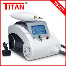 TB-421 1064/532/1320nm q switch nd yag laser tattoo removal system plus alexandrite 755nm hair removal laser