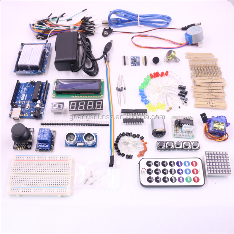 37 pcs Kit de Sensor Módulo Buzzer Ativo Jogo Joystick Módulo