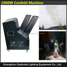1000w Wedding confetti blower / Paper confetti blaster Confetti machine AC110/220V Euro/USA power plug