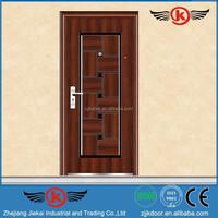 JK-S9016 steel door used exterior/door steel wardrobe/vented steel door