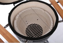 "New - MINI 12"" Kamado Charcoal Ceramic Grill Smoker"