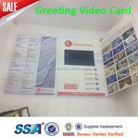 lcd video brochure module paper crafts video module sound module