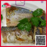 China importer canned jack mackerel in sunflower oil