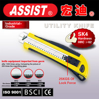 ASSIST retractable credit card knife cutter utility knife of chinese manufacturer
