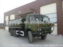 DTA 6x6 Off Road Truck Fuel Tank Truck Road tanker Fuel tank truck oil tanker truck 18,000-25,000L