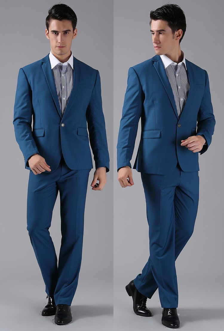 HTB1 GFpFVXXXXcsXXXXq6xXFXXXq - (Jackets+Pants) 2016 New Men Suits Slim Custom Fit Tuxedo Brand Fashion Bridegroon Business Dress Wedding Suits Blazer H0285