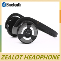 Wireless built-in battery USB rechargeable sport mp3 neckband headphone,cool tf mp3 fm headphones