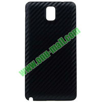Cross Basket Texture Line Leather Back Battery Case for Samsung Galaxy Note 3 III