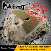 WoSporT CS Tactical Necessary FAST HELMET(Sporting Helmet-Standard Version-BJ-type Rhombic Hole)Military Tactical airsoft helmet