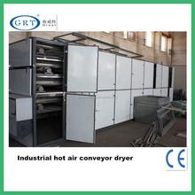 Utilizado para industrial caranguejo ameixa folhas de secagem / multi-camada de aço inoxidável máquina de secagem da correia