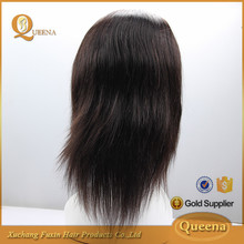 Cheap Wholesale Raw Unprocessed Virgin Straight Indian Lace Front 100% Human Hair Wig