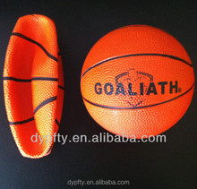 5# Brown rubber basketball