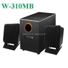 Fm Radio Mini PC Speaker with USB/SD/FM/Mini Remote Control