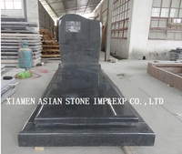 panda dark g654 granite tombstone