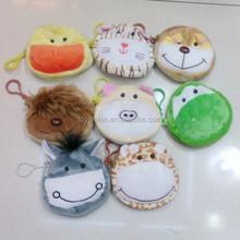 Many animals shaped plush mini bag