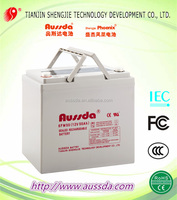 Sealed rechargeable 12v50ah lead acid battery