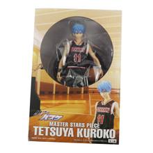 "Japanese anime New in Box Kuroko's Basketball MSP Master Stars Piece Tetsuya Kuroko 9.8"" Black Ver Action figure"